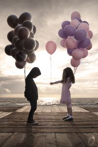 Boy and girl balloons -Josh Separzadehmeh - Opinionatedmale.com