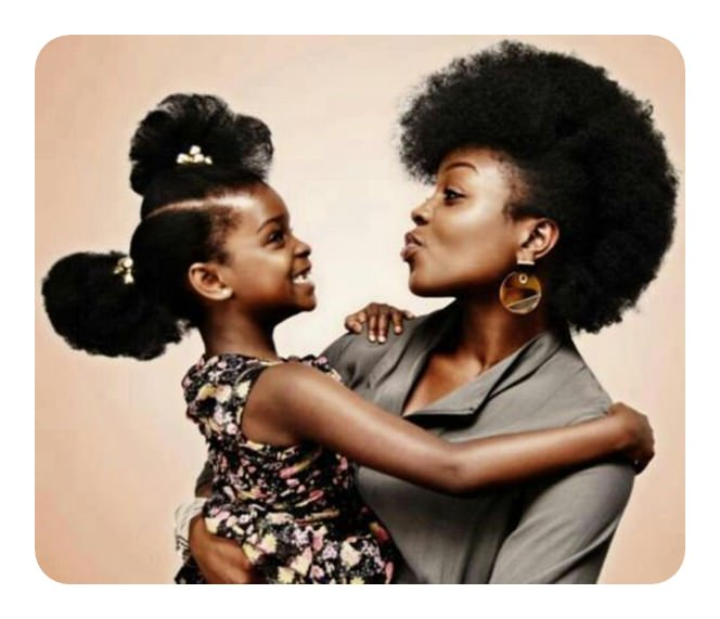 African American Mother and daughter - Opinionatedmaleblog