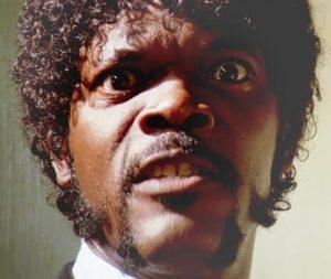 Samuel L Jackson - Pulp Fiction - OpinionatedMale.com