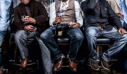 African American Men Hanging out - Opinionated Male Blog