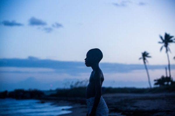 African American boy on beach - Palm Trees - Opinionated Male Blog - moonlight