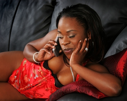 black-woman-in-lingerie - OpinionatedMale.com