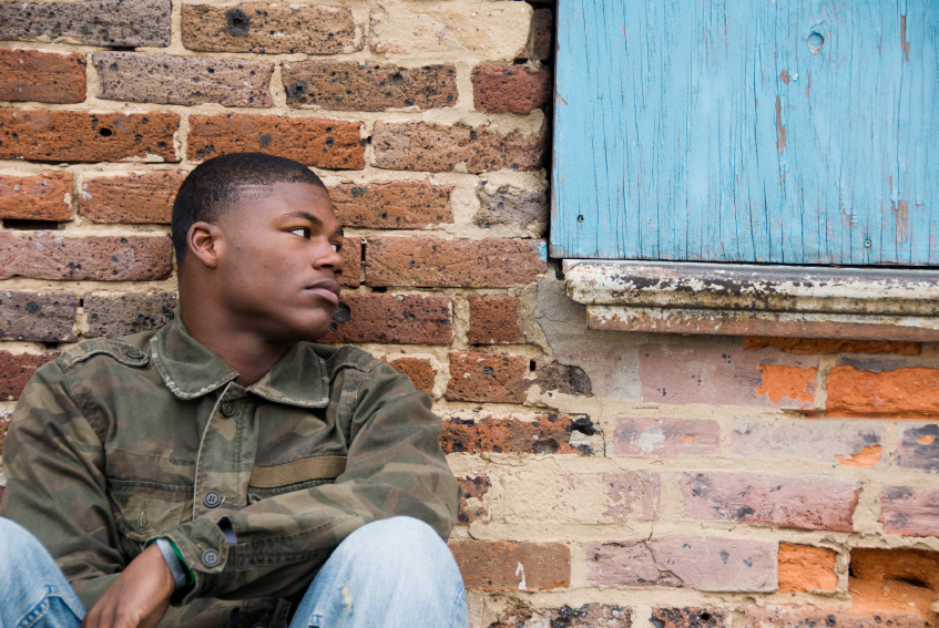 Homeless-Youth-African-American-Opinionated Male Blog