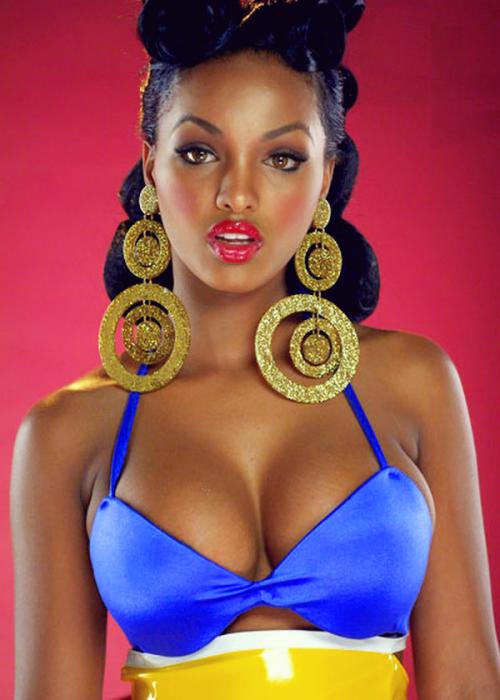 Pretty Black Woman - OpinionatedMale.com