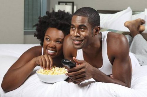 African American Couple Relaxing - OpinionatedMaleblog - Is a Man responsible for leading a woman on