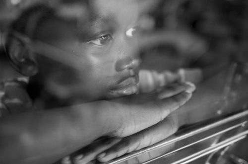 African American Man Daydreaming - Opinionatedmaleblog