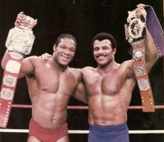 Tony Atas and Rocky Johnson - WWE - Wrestling - Opinionated Male